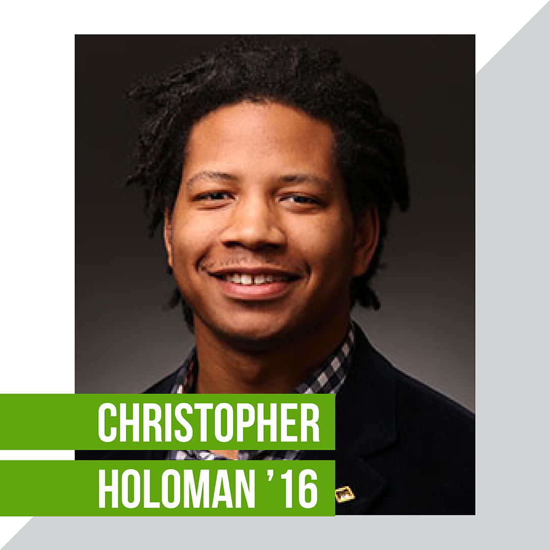 Christopher Holoman '16
