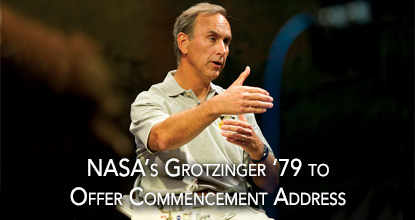 Grotzinger '79 to Offer Commencement Address