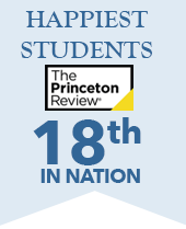 HWS Ranked 18th for Happiest Students