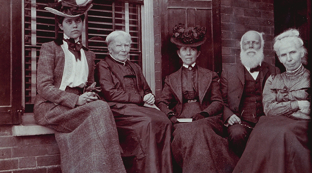 Dr. Elizabeth Blackwell and fmaily