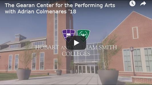 The Gearan Center for the Performing Arts with Adrian Colmenares '18