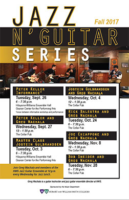 Jazz and Guitar Series Poster
