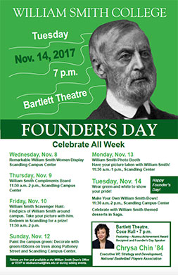 Founders Day Week Poster