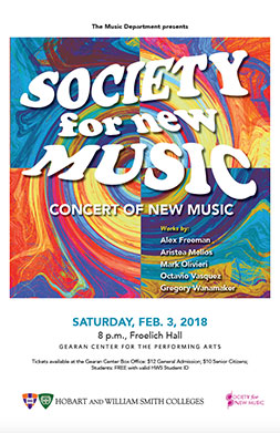 Society for New Music Poster