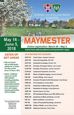 Maymester Poster