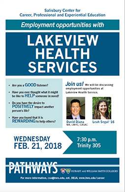 Lakeview Health Services Poster