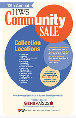 Community Sale Poster