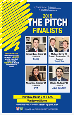 Pitch Finalists Poster