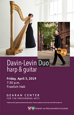 Davin-Levin Duo Poster