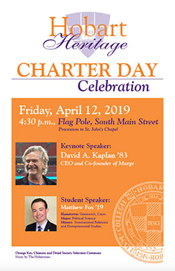 Charter Day Poster