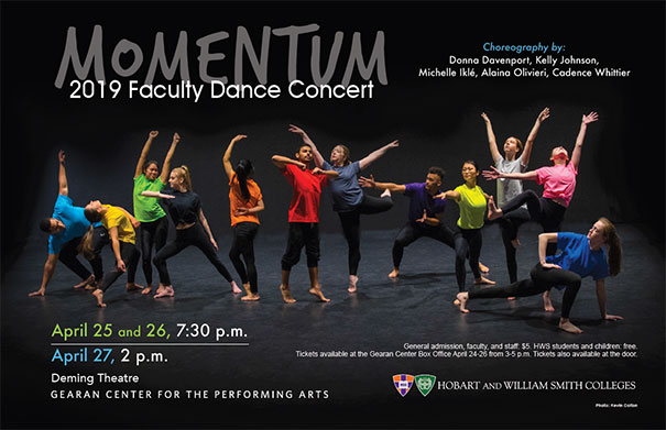 Faculty Dance Poster