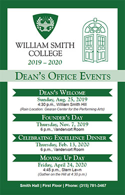 WS Deans Poster