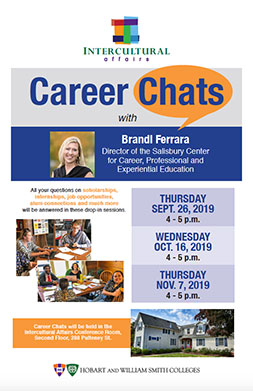 Career Chat Poster