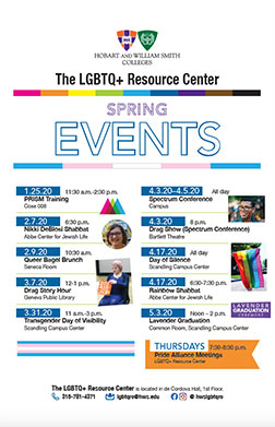 LGBT Events Poster