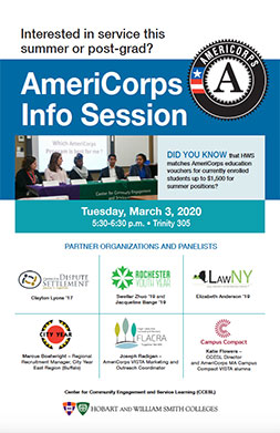 AmeriCorps Poster