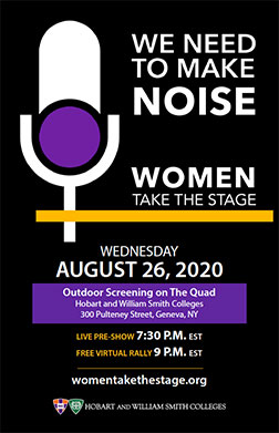 Women Stage Poster