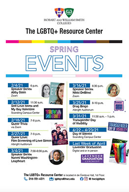 LGBTQ events Poster
