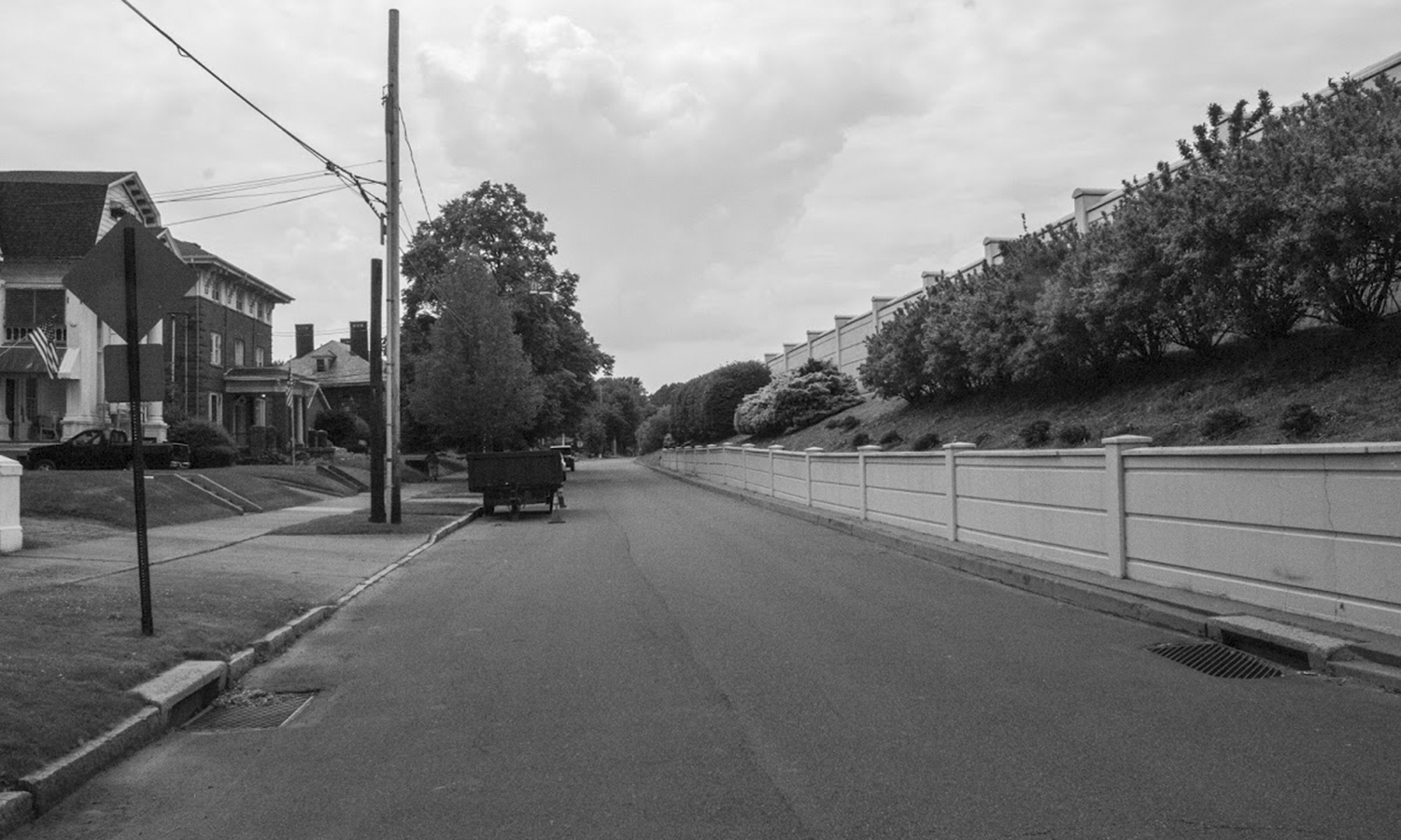 Riverside Drive in Wilkes-Barre, PA, captured by Kate Barilla '23.