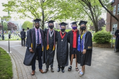 Classes of 2021Commencement Pre-Ceremony