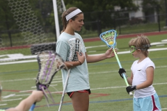 William Smith lacrosse students run a summer camp for girls