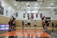 Hobart Basketball vs RIT scrimmage<BR>Photos by Kevin Colton