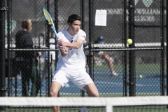 Hobart Tennis vs U of R<BR>Photos by Kevin Colton