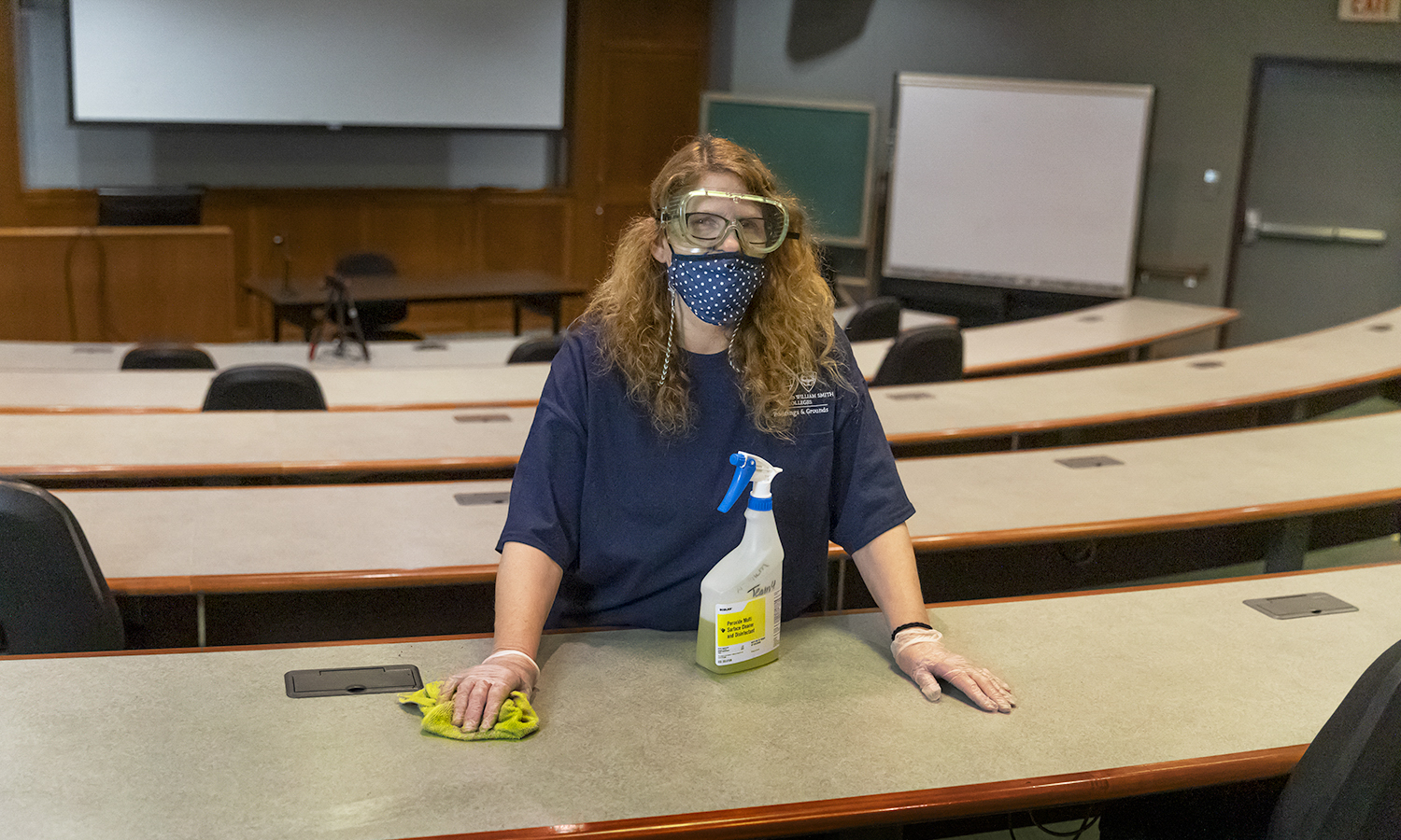 Project Housekeeping,  KColton, Colleen Curle, been here 4 years, Library