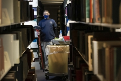 Project Housekeeping,  KColton, Jason McIntyre, been here 2 years, Library