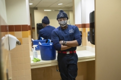 Project Housekeeping,  KColton, Kevin Johnson, been here 5 years, Stern Hall