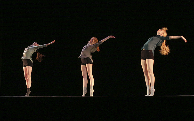 "I Hope You DanceChoreographed by: Ellie CherryMusic: ""In My Bones"" by Ron PopeCast: Ellie Cherry, Lily Heath, and Victoria Martin"