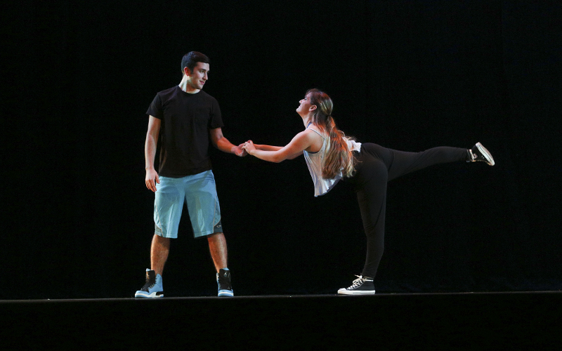 Thank YouChoreographed by: Elizabeth StranoMusic: âA Whole New Worldâ by Peabo Bryson and Regina Belle, and âA Whole New Worldâ by Acetronik RemixCast: Elizabeth Strano and Brian Tosado-Prater