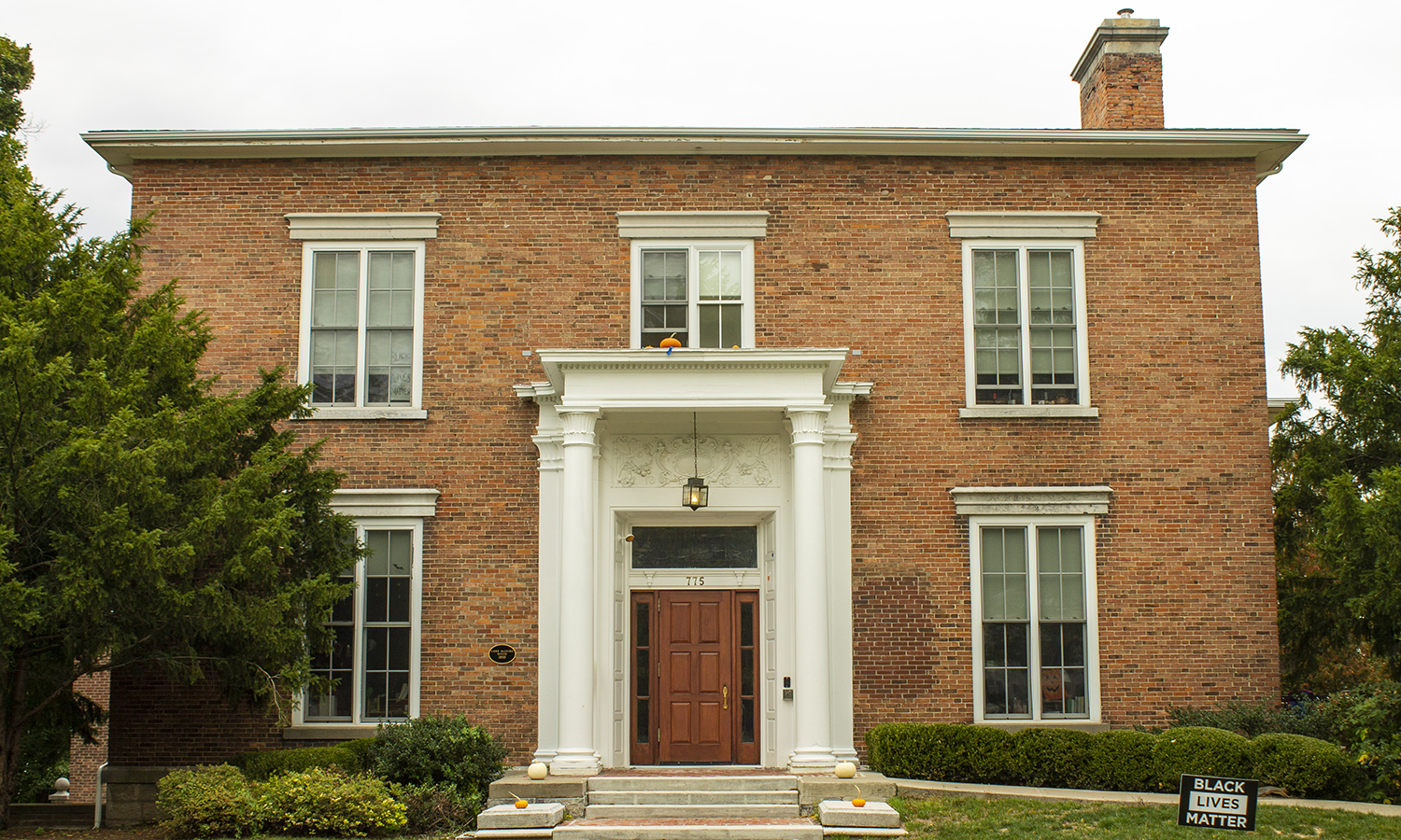 Located at 775 S. Main Street, Carr McGuire House is home to the Meditation House.