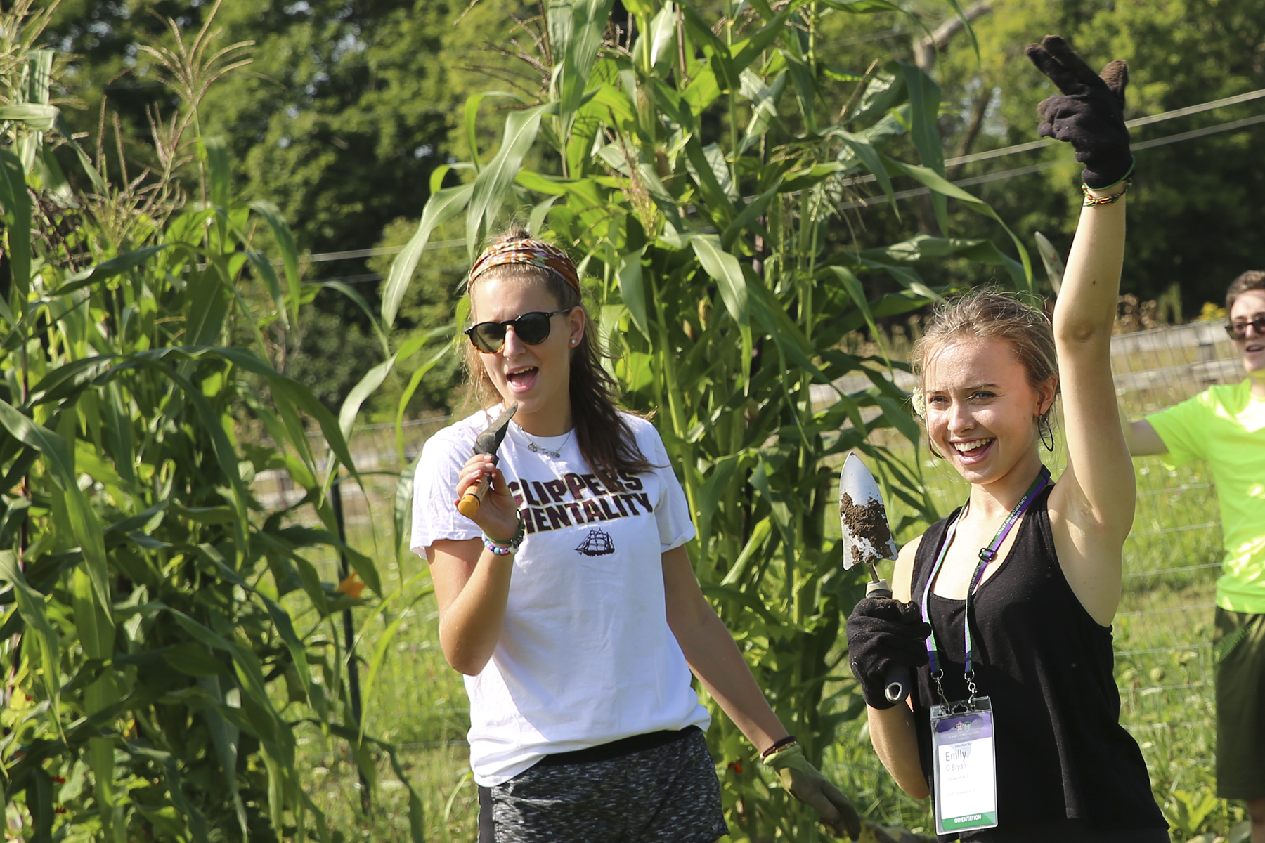 Orientation 2018, Day of Service, Fribolin Farm