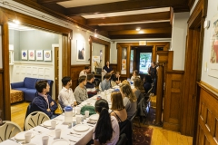 Shabbat Dinner <br> Photos by A. Farid '20