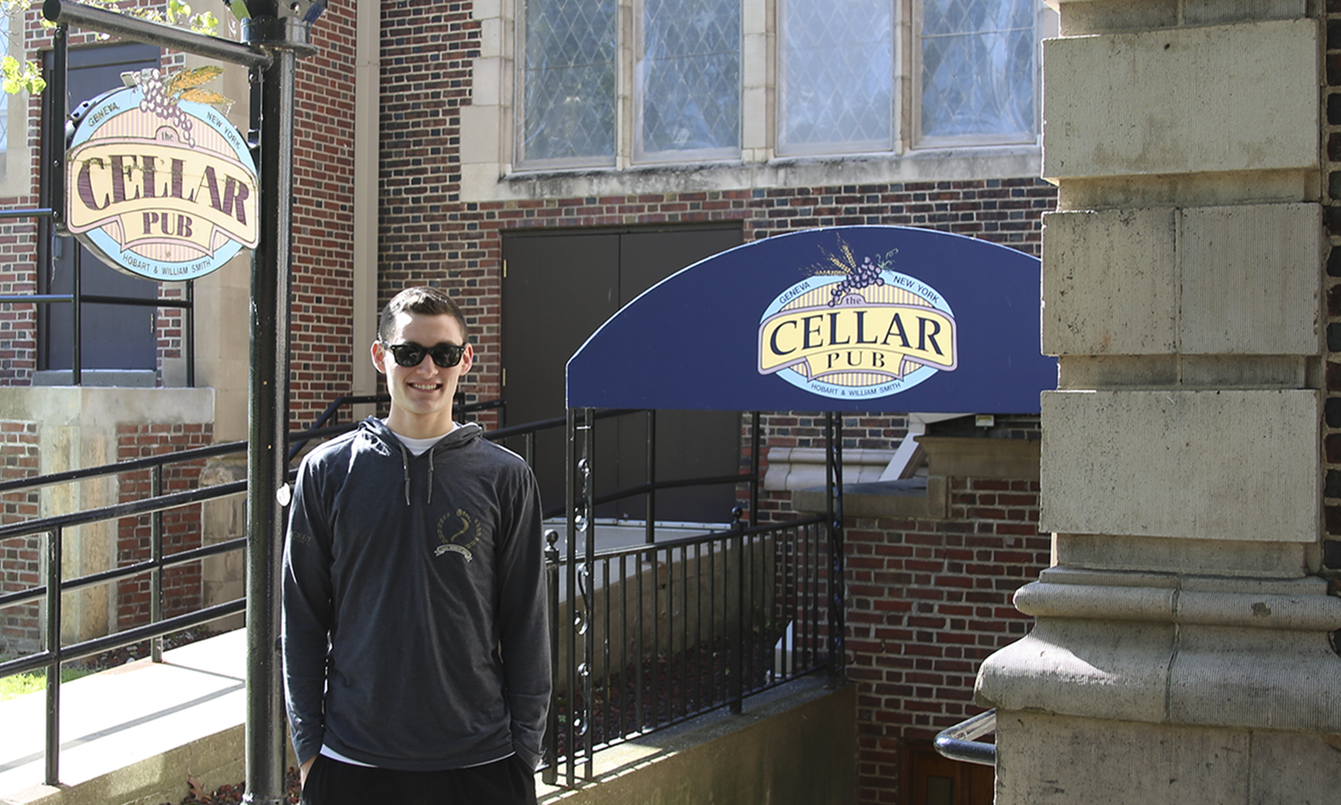 Josh Wasserman '20 talks about his father, Pete Wasserman '87 who founded the Cellar Pub as a student. It's continuation was insured by Josh's mother, Karen Wasserman '89. The Cellar Pub is Josh's favourite place to eat on campus, and the Pub always reminds him of them.