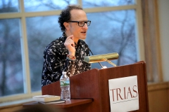 Wayne Koestenbaum, Author of Camp Marmalade and The Anatomy of Harpo Marx, reads passages from his work as part of the Trias Reading Series in the Hirshson Ballroom.