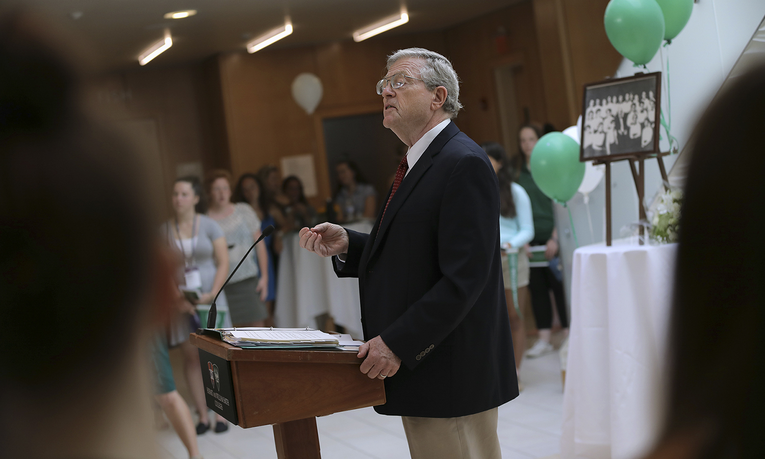 Interim President of Hobart and William Smith Colleges Patrick A. McGuire L.H.D. '12 welcomes the William Smith Class of 2022.
