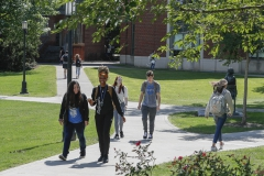 Students on Campus, Change of classes
