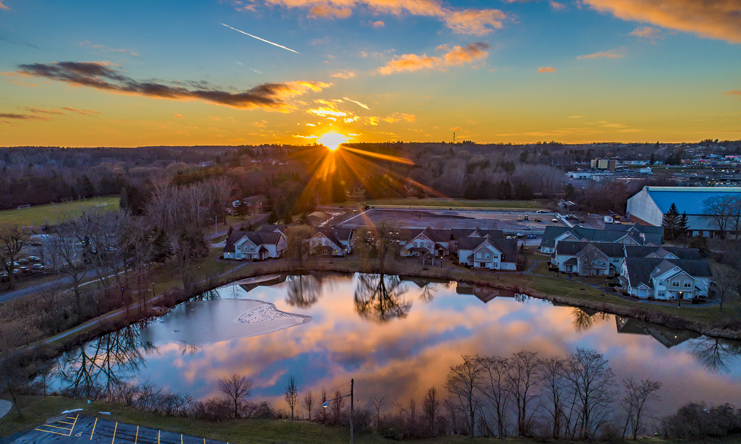 Campus Sunset Drone 12_18_18 (1)