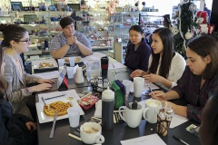 The LLOW Board met Saturday morning at FLounge.