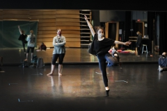 Ikle Michelle, Class,  KColton, Deming Theatre Arts Scholars in Dance, Dance Ensemble course.  We are working on my piece for this year's virtual Faculty Dance Concert.  Harper Tanguay (FY) is in the black clothing