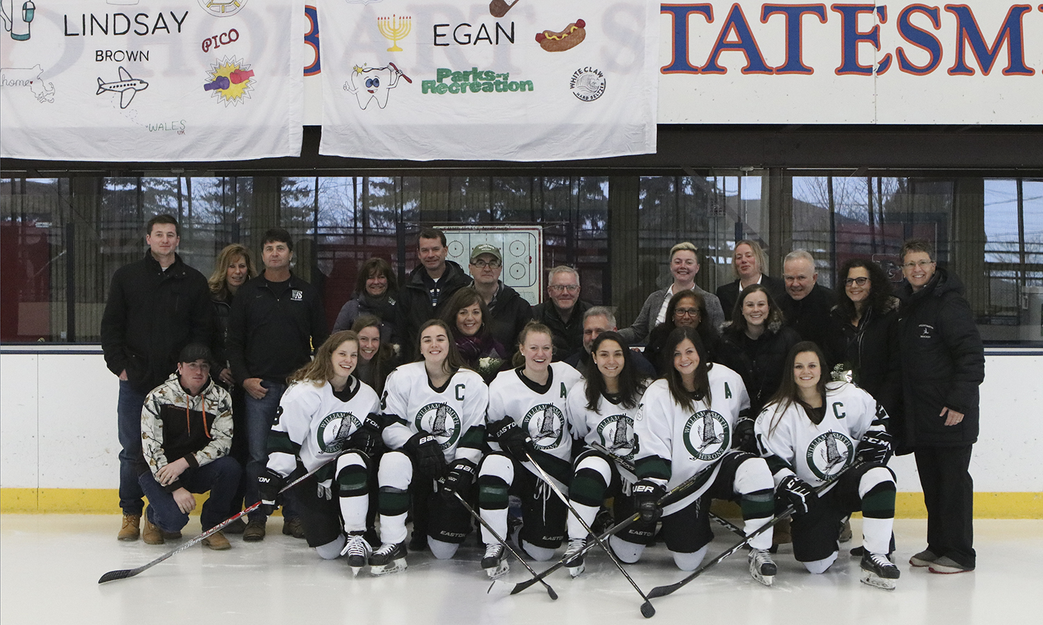 Senior WS Hockey Team Photo