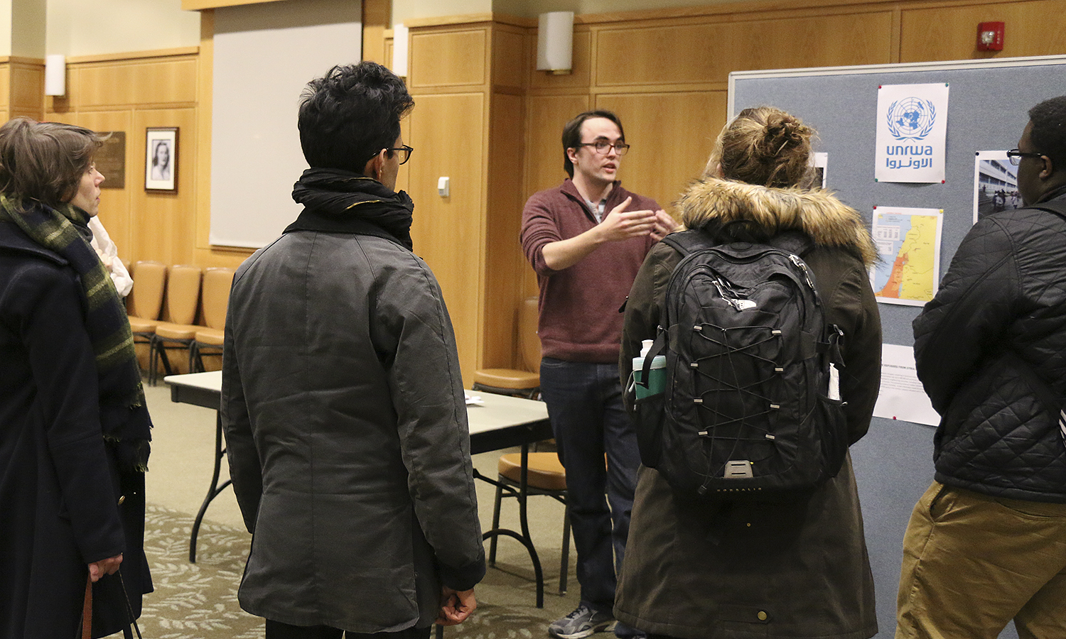 HWS Students Take Action lecture series114