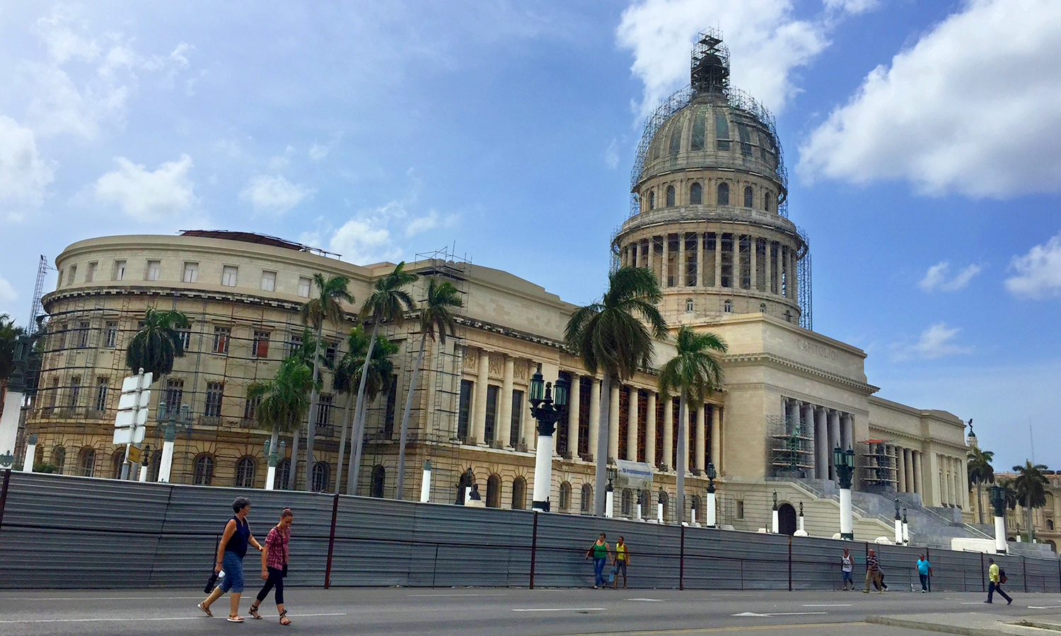 The capitol building in Old Havana.