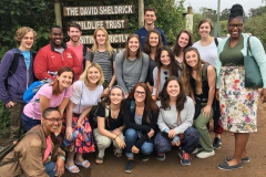 In this special edition of This Week In Photos, weâre showcasing HWS students, faculty and alums on trips all over the world this summer featuring âThe Economics of the Betweenâ in Kenya, âOutdoor Education: Theoretical Issues in Outdoor Pursuitsâ in Wales, and  âAn Italian Road Less Traveled: Calabria and Sicilyâ in Italy. Here, students gather for a photo with Professor Keoka Grayson in front of the David Sheldrick Wildlife Trust in Nairobi, Kenya.