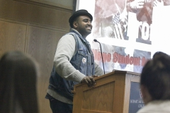 """Jonathan Berhanu opened the 6th annual Leadership Institute with his keynote address """"From Hope to Action: College Student Activism and the Pursuit of a Just World."""""""