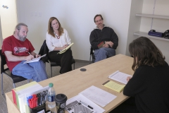 First Deparment chairs meeting with new building coordinator