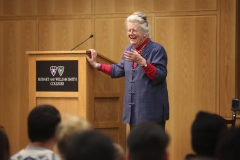 Noted scholar, feminist and anti-racism activist Peggy McIntosh will visit Hobart and William Smith to deliver a lecture as part of the campus community's series of events commemorating Dr. Martin Luther King Jr. McIntosh's talk will take place at 7:30 p.m. on Wednesday, Jan. 27, in the Vandervort Room of the Scandling Campus Center. The event is free and open to the public.