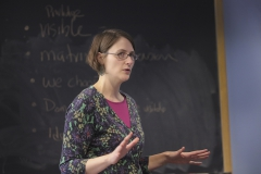 Peggy McIntosh in Classroom Beth Belenger- Art, Memory and the Power or Place Art 360B