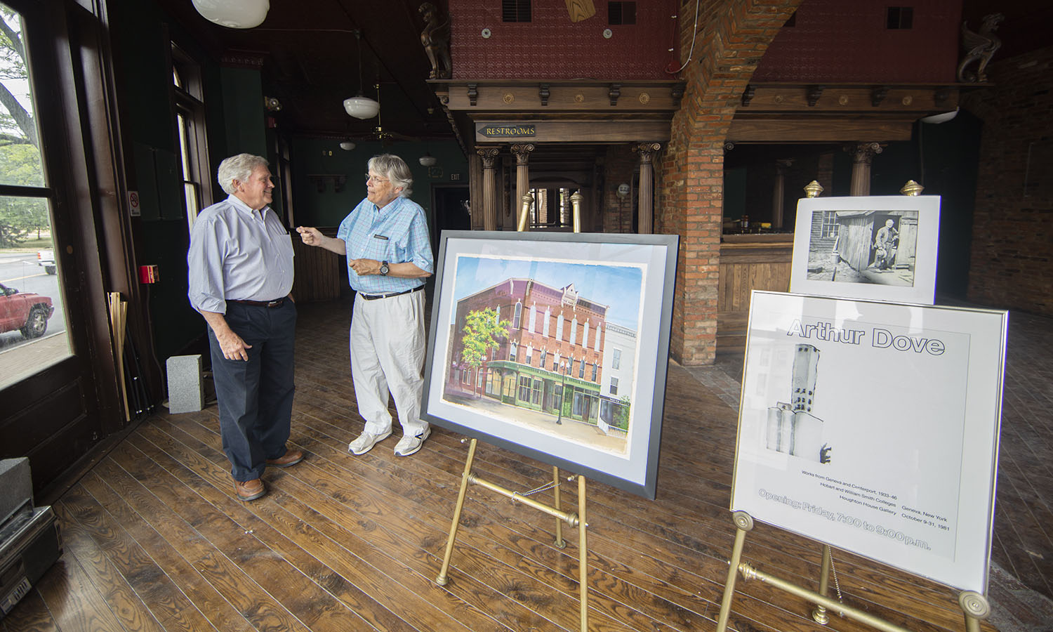 A collaboration between Professor Emeritus of Anthropology and Sociology Jim Spates and local businessman Dave Bunnell intends to refurbish a historical downtown Geneva building with ties to HWS and the modernist art movement of the early 20th century.